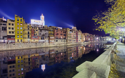 THE MEDIEVAL CITY OF GIRONA AND ITS JEWISH STEPS